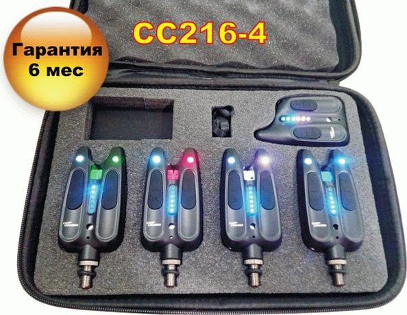 Электронные Сигнализаторы Поклевки Carp Cruiser FA216- 4 с радио пейдж