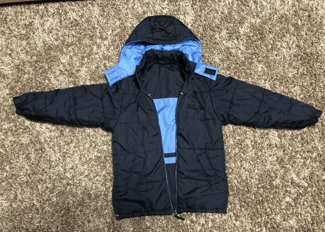 Двухсторонняя зимняя подростковая куртка