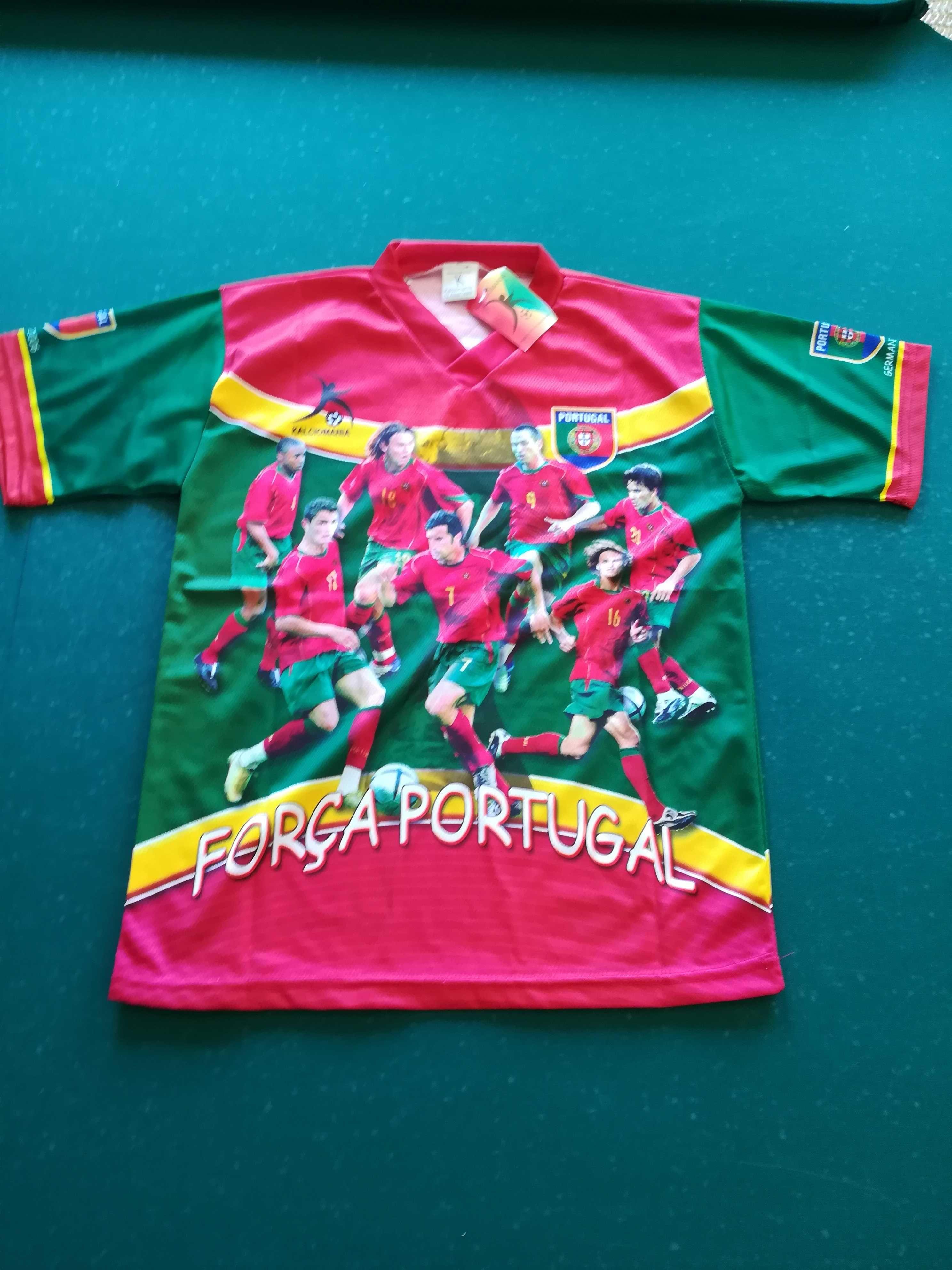 T-shirt Portugal Mundial Alemanha 06