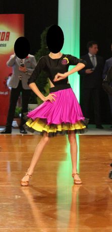 sukienka do tańca towarzyskiego - LA