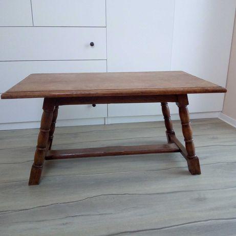Ława, stolik, lite drewno dąb, antyk