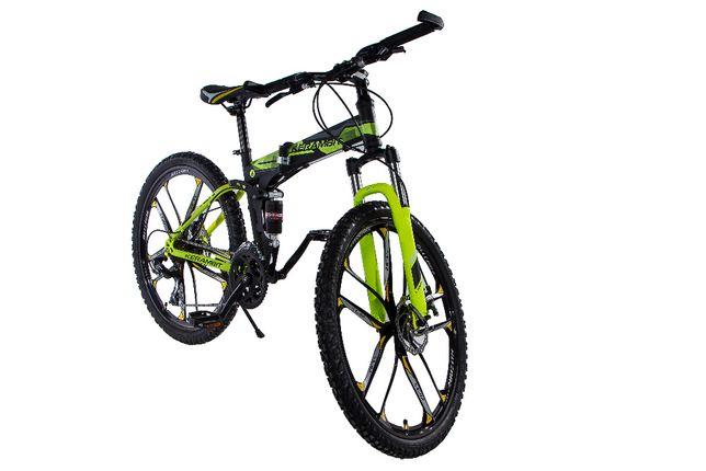 """Велосипед Kerambit стальной складной на литых дисках 26"""" рама 17"""""""