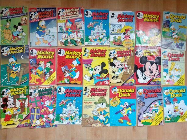 Donald Duck,Mickey Mouse,Królik Bugs,Tom i Jerry,Kaczor Donald