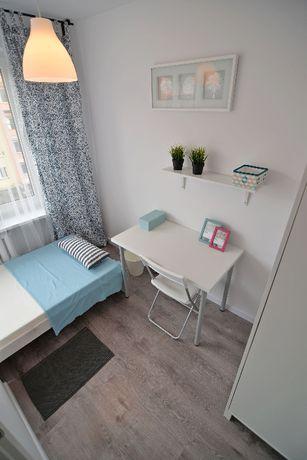 Pokój 1 osobowy Powstańców 30B-mieszkanie w super standardzie!