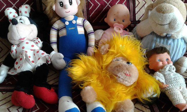 мягкие игрушки мышка         кукла ,пупс , кукла,     собака, обезьяна