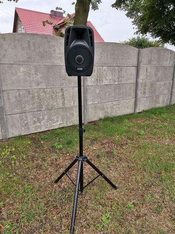 Głośnik Bluetooth z USB radio FM i statyw