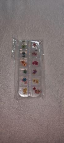 Flores secas para nail art