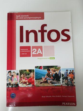 Książka Infos 2A +płyta CD