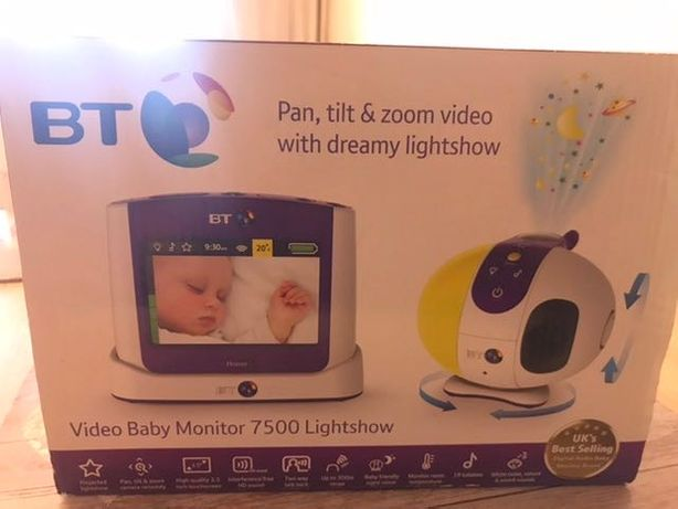 Baby monitor BT 7500 kamera niania elektroniczna