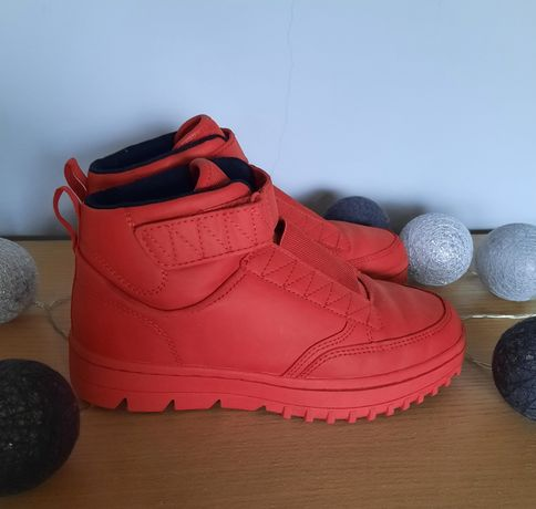 Zara czerwone sportowe buty 34/35