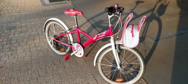 "Rower Decathlon B'Twin 20"" Różowy"