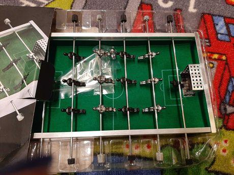Piłkarzyki mini stół piłkarski aluminiowy NOWE
