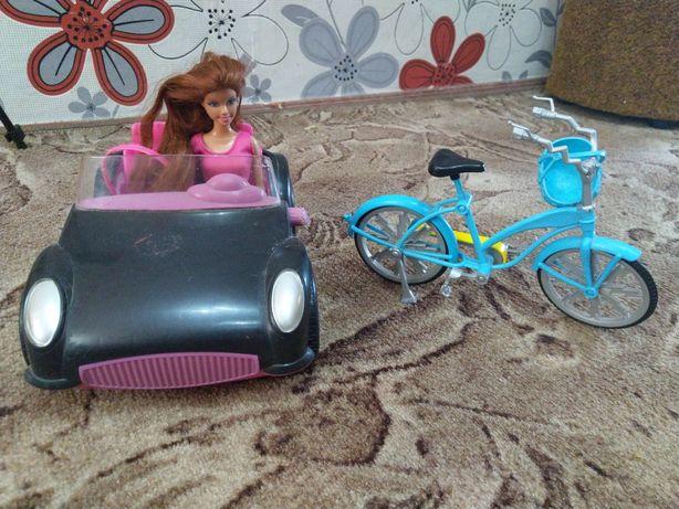 Машина, велосипед для кукол монстер хай, барби
