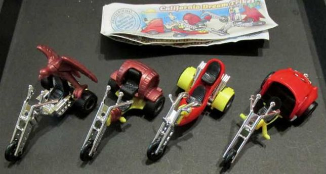 Киндер. Трициклы 1997, серия + 3 вкл