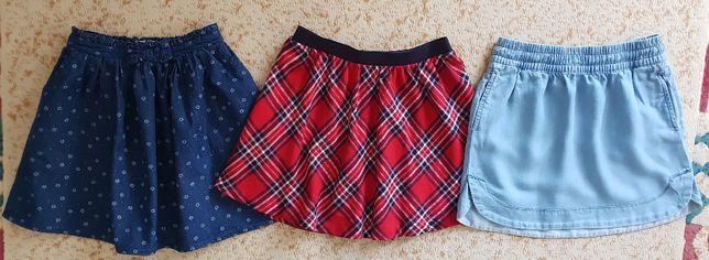 Spódnica, spódnice 134,140. Prawie nowe. Po 20 zł