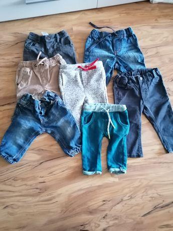 Ubranka dla chłopca rozmiar 62