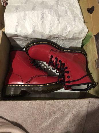 Ботинки Dr. Martens Air Wair 1460 Red Rouge