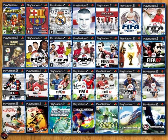 [PS2] Jogos DESPORTO 1 (Futebol,Rugby,Voley,Basket,Hoquei,Basebol)