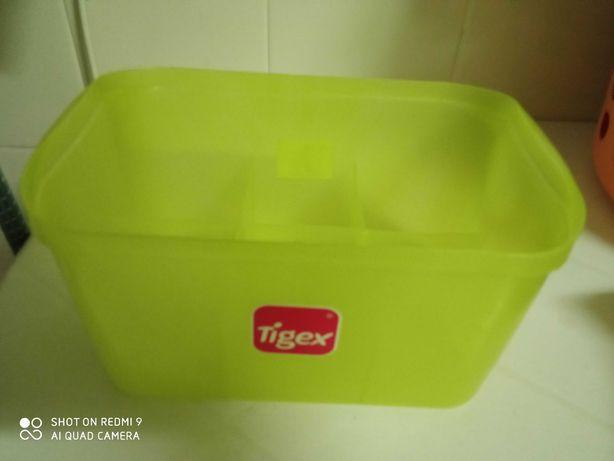 Caixa arrumação de biberões, caixa Doseadora de leite
