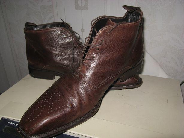 Классные кожаные ботинки Хьюгo Boss, суперстильные.бесподобные, на р42