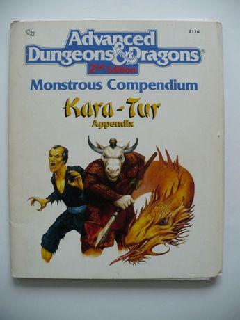Monstrous Compendium Kara-Tur Appendix 1990