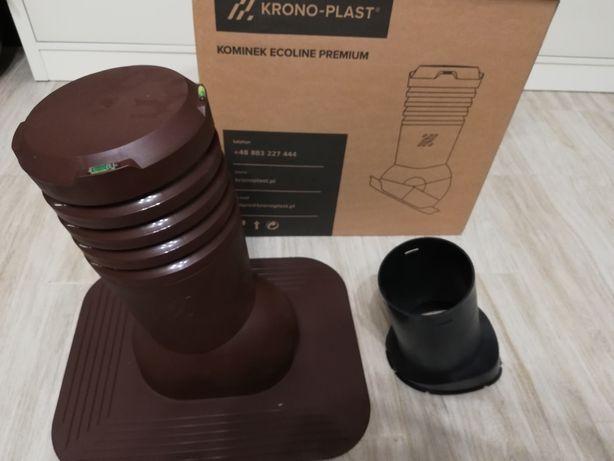 Kominek wentylacjyjny 125mm pod gonty i papę ECOLINE  KRONO-PLAST
