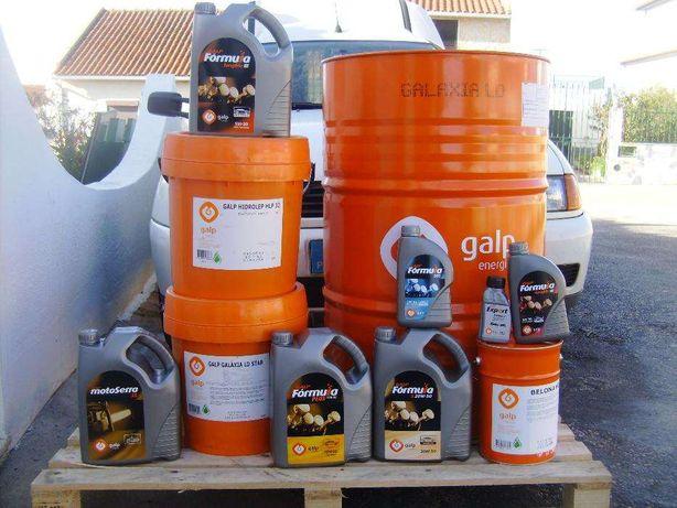 Lubrificantes GALP ( ligeiros , pesados , agrícolas e motos )