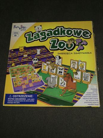 Gra pamięciowa zagadkowe zoo