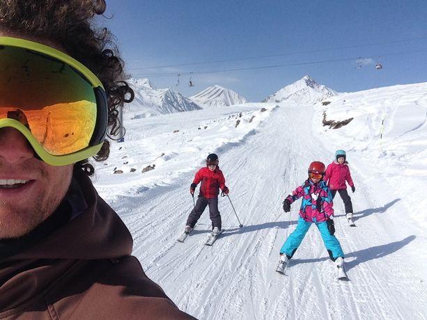 Тренер, инструктор по горным лыжам. Горные лыжи.