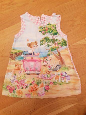 Красивая одежда для девочки Майорал Mayoral Испания, 80 см