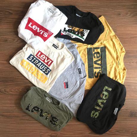 S M L новая футболка Levis оригинал черная белая lacoste hilfiger nike