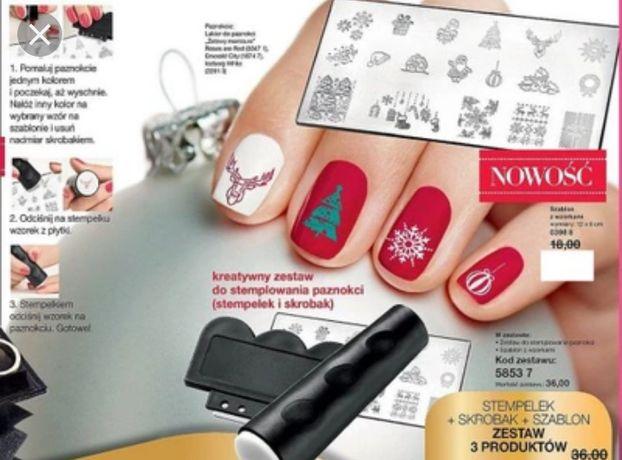 Nowy zestaw do zdobienia paznokci Avon Oriflame