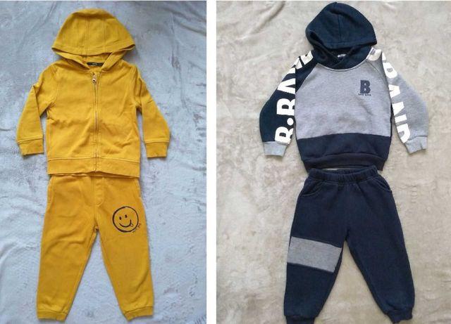 Теплый костюм на флисе для мальчика 2-3 года