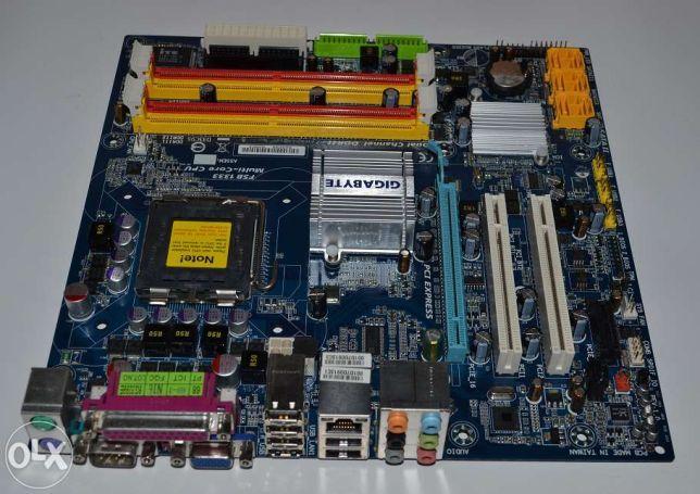 Solidna płyta Gigabyte GA-Q35M-S2 idealna pod proc Intel Core 2 Quad