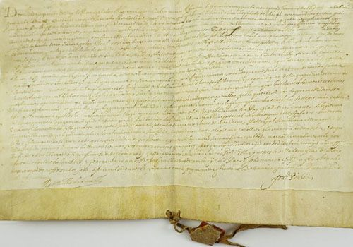 Carta Régia de Legitimação-D. Joao IV - Braga