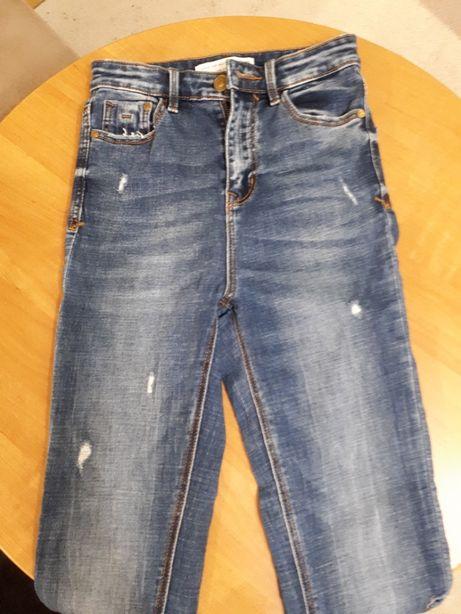 Spodnie jeans Stradivarius r.34