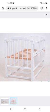 Дитяче ліжко колиска з маятником