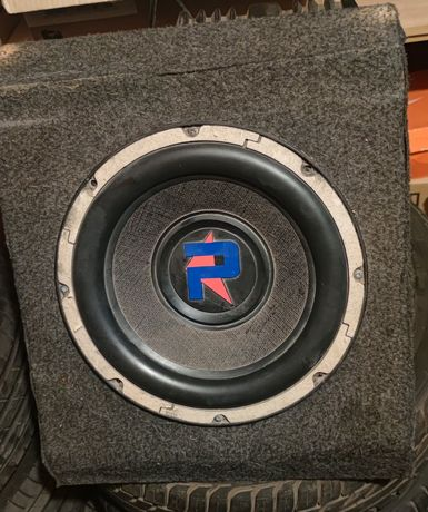 Subwoofer 2000w + amplificador 1000w