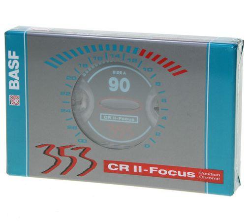 Cassetes BASF 90 Crómio audio Type 2 NOVAS e Seladas