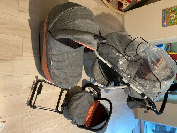Wózek dziecięcy wielofunkcyjny PRAMPOL Soft Line