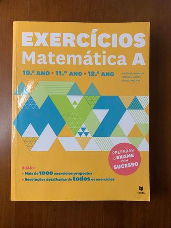Livro de preparação para exames, matemática A