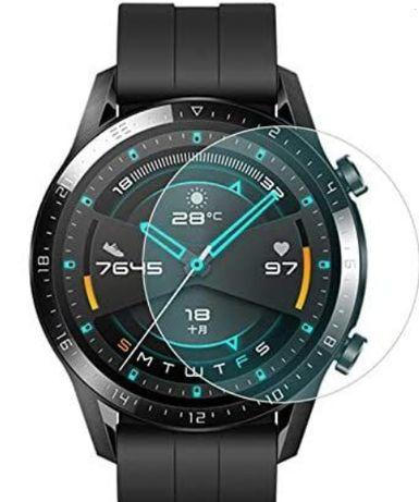 3 Películas Vidro Temperado 9H para Huawei Watch Gt 2 Elite 46Mm