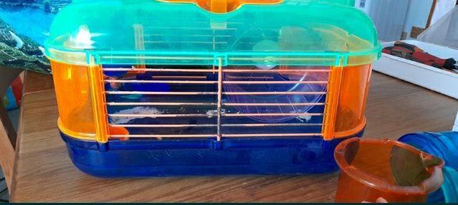 gaiola hamster com acessórios