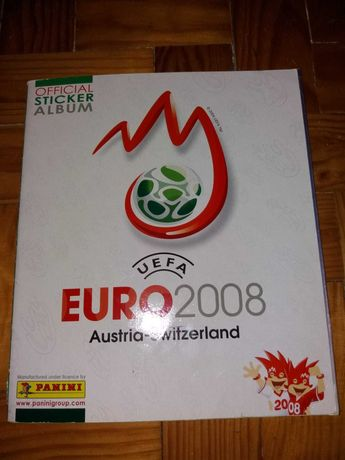 Caderneta Completa Europeu Futebol 2008 (Panini)