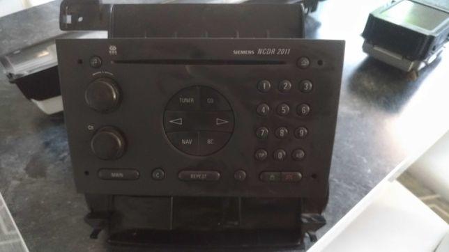 Radio wyswietlacz opel omega NCDR 2011 zestaw