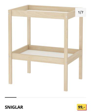 Przewijak z podkładką pielęgnacyjną Ikea