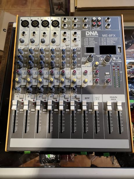 DNA ME8 FX - mikser audio NOWY