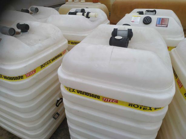 Zbiornik DWUPŁASZCZOWY 600l na olej paliwo ropę dwuścienny ROTEX