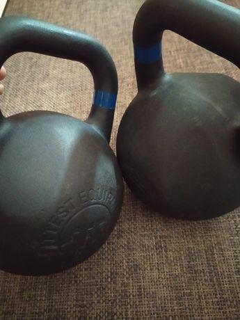 Conjunto de 2 kettlebell de 12kg cada um
