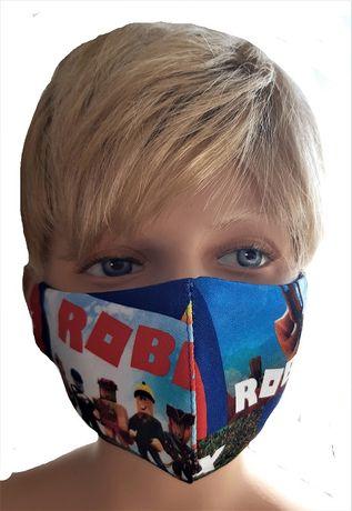 Maseczki maski dla dzieci roblox
